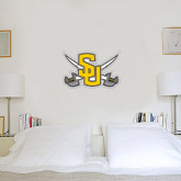 1.5 ft x 2 ft Fan WallSkinz-Interlocking SU w/Sabers