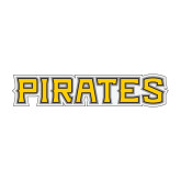Medium Decal-Pirates Word Mark, 8 inches wide