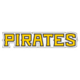 Extra Large Decal-Pirates Word Mark, 18 inches wide