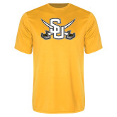 Performance Gold Tee-Interlocking SU w/Sabers