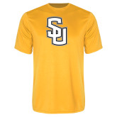 Performance Gold Tee-Interlocking SU