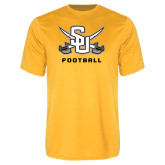 Performance Gold Tee-Football
