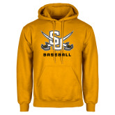 Gold Fleece Hood-Baseball