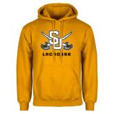 Gold Fleece Hood-Lacrosse