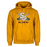 Gold Fleece Hood-Alumni