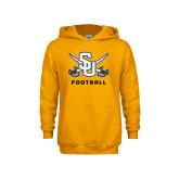 Youth Gold Fleece Hoodie-Football