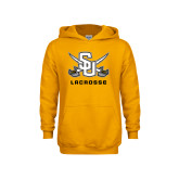 Youth Gold Fleece Hoodie-Lacrosse