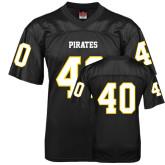 Replica Black Adult Football Jersey-#40