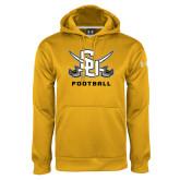 Under Armour Gold Performance Sweats Team Hoodie-Football