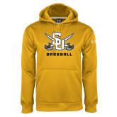 Under Armour Gold Performance Sweats Team Hoodie-Baseball