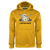 Under Armour Gold Performance Sweats Team Hoodie-Lacrosse