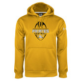 Under Armour Gold Performance Sweats Team Hoodie-Pirates Football Vertical
