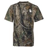 Realtree Camo T Shirt-Interlocking SU