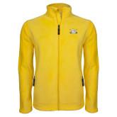 Fleece Full Zip Gold Jacket-Interlocking SU w/Sabers