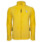 Fleece Full Zip Gold Jacket-Interlocking SU