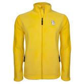 Fleece Full Zip Gold Jacket-Interlocking SU