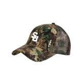 Camo Pro Style Mesh Back Structured Hat-Interlocking SU