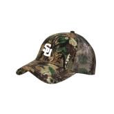 Camo Pro Style Mesh Back Structured Hat-Interlocking SU