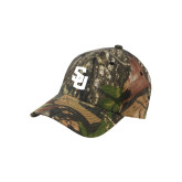Mossy Oak Camo Structured Cap-Interlocking SU