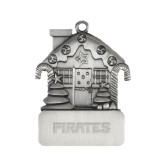 Pewter House Ornament-Pirates Word Mark Engraved