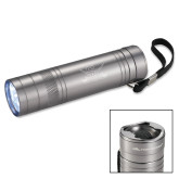 High Sierra Bottle Opener Silver Flashlight-Interlocking SU w/Sabers Engrave