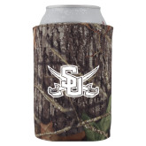Collapsible Mossy Oak Camo Can Holder-Interlocking SU w/Sabers