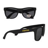 Black Sunglasses-Pirates Word Mark