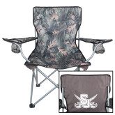 Hunt Valley Camo Captains Chair-Interlocking SU w/Sabers