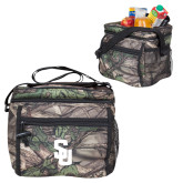 Big Buck Camo Junior Sport Cooler-Interlocking SU