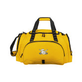Challenger Team Gold Sport Bag-Interlocking SU w/Sabers
