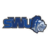 Large Decal-SWU w/ Knight, 12 inches wide