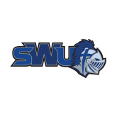 Small Decal-SWU w/ Knight, 6 inches wide