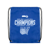 Royal Drawstring Backpack-2020Mens Basketball