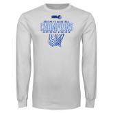 White Long Sleeve T Shirt-2020Mens Basketball