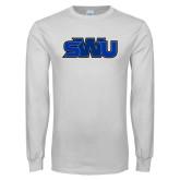White Long Sleeve T Shirt-SWU