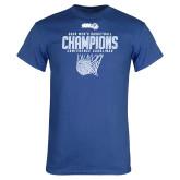 Royal T Shirt-2020Mens Basketball