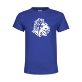 Youth Royal T Shirt-Warrior Helmet