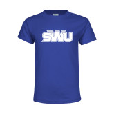 Youth Royal T Shirt-SWU