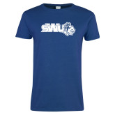 Ladies Royal T Shirt-SWU w/ Knight