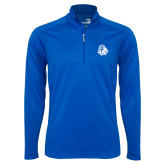 Syntrel Royal Blue Interlock 1/4 Zip-Warrior Helmet