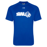 Under Armour Royal Tech Tee-SWU w/ Knight