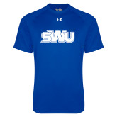 Under Armour Royal Tech Tee-SWU