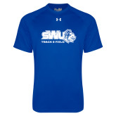 Under Armour Royal Tech Tee-Track and Field