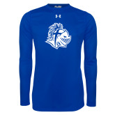 Under Armour Royal Long Sleeve Tech Tee-Warrior Helmet