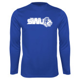 Performance Royal Longsleeve Shirt-SWU w/ Knight