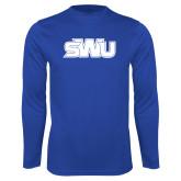 Performance Royal Longsleeve Shirt-SWU