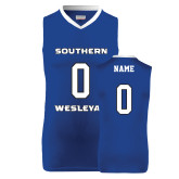 Replica Royal Adult Basketball Jersey-Personalized (Ladies)