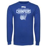 Royal Long Sleeve T Shirt-2020Mens Basketball
