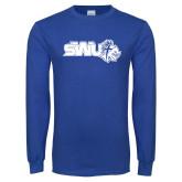 Royal Long Sleeve T Shirt-SWU w/ Knight