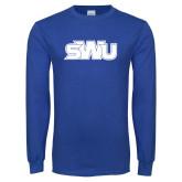 Royal Long Sleeve T Shirt-SWU